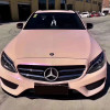 Gloss confectionery twin colors car wrap vinyl sticker pink