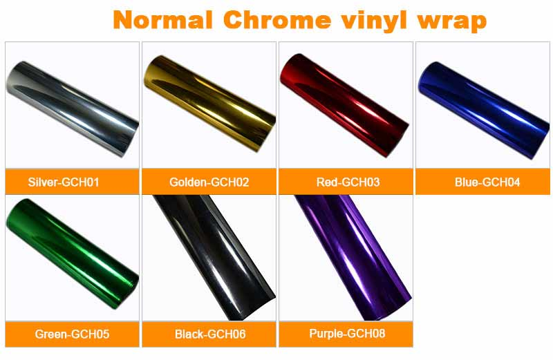 Normal Chrome vinyl wrap