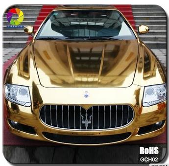 copper chrome vinyl wrap for vehicle