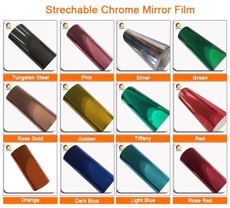 Strechable Chrome Mirror
