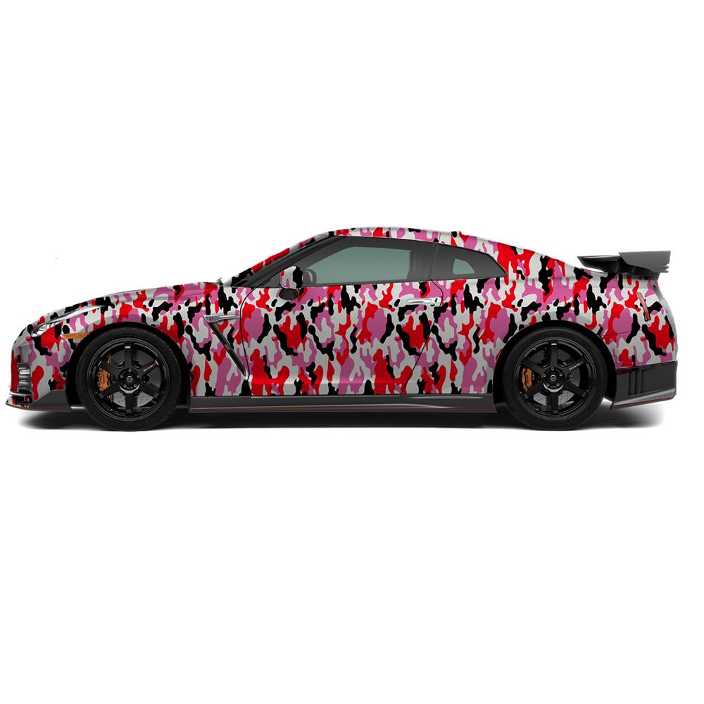 camouflage vinyl wrap