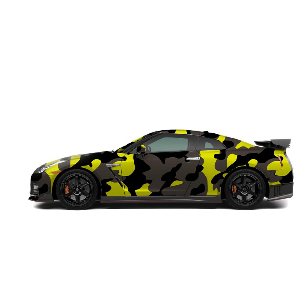 camo vinyl car wrap