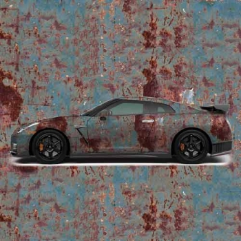 rust car wrap for sale